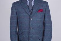 Nice & Tweedy / From humble farmers to landed-gentry, tweed has for centuries been a fabric to traverse boundaries of class and status. Rich in heritage, rugged and woven with charm, to combine confident masculinity with exceptional tailoring. Whether you're a Donegal man who likes a little effervescence in their cloth or a Harris purist, our 100% wool tweed caters for all inclinations. Tweed is an essential for every country gent and these days often spotted in town.