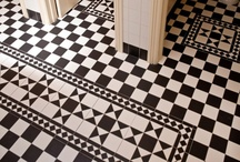 Victorian Tiles / Our Victorian tile range offers you the timeless style and elegance that has come to be associated with classical Victorian style floor designs. The innovative mesh backing means that the floor can be fitted simply and quickly. The modularity of the items result in a sysmetric floor with low installation costs.  The range is manufactured from the highest quality unglazed porcelain stoneware and is suitable for indoor and outdoor use.