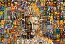 Mosaic Glass Art / Mosaic glass art – beautiful art made with glass