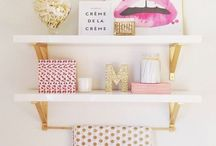 Interior / Inspiration of all things bed, bath & beyond!