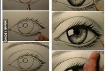 APRENDIENDO A DIBUJAR / breves nociones para aprender a dibujar animales, rostros de personas y mucho más / by rebeca ibaceta