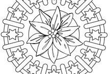 Mandala and celtic simbols / simboli