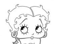Betty Boop  Digital Stamps and More