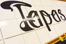 Las Tapas de Lola Signage / Some images of a tiled shop front sign we created for a Tapas Restaurant in Dublin City...They wanted something a little different from the normal printed signage, and it certainly was that!