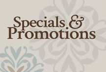 Specials & Promotions / Let us tell you about our current specials and promotions