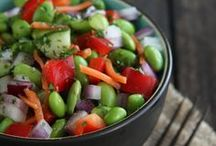 Salads, Salads, and More Salads / Vegetarian and vegan, or easily adapted to be so... / by Thia *