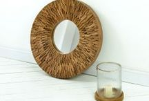 Quirky Mirrors / Quirky, trendy and funky mirrors to create a feature in your home.