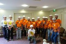 Charity Abseil for Multiple Sclerosis Society of Northern Ireland / On Sunday 27th April, 10 dare devil members of staff abseiled their way down the front of the Europa Hotel in Belfast City Center raising over £800 for the charity. Well Done to all involved!