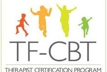 Trauma and TFCBT / Resources for treating traumatized children utilizing TF-CBT.  / by Liana Lowenstein, MSW, CPT-S