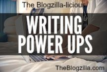 WRITING POWER UPS (group board) / Tips, tools, resources to help you pursue your writing dreams.  To join the board:  1. Follow The Blogzilla on Pinterest.  2. Email thebossATtheblogzillaDOTcom using your Pinterest email with a request to join the board. BOOM baby. (no spamming, no unrelated pins y'all and make sure you have the right to pin and repin anything you put on the board honey).