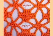 crochet + tunisian crochet