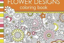 Coloring Books for Grown-ups / The amazing trend to adult colouring books - Not only the books, but all the implements: pens, pencils, crayons, markers, sharpies, what-have-you. It's time to PLAY!