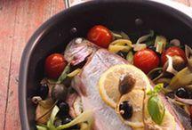 Fish (Salmon, Shrimp)