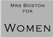Mrs Boston accessories for Women