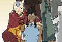 Aang and Korra / Avatar: The Last Airbender and The Last Airbender: The Legend of Korra / by Catherine Elizabeth Anne