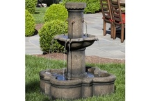 Fountains-At Our Nursery / Fountains add the incredible water sound to any environment. We have a wide variety of fountains at our Nursery. Our lines include Campania, Massarelli's, Alfresco Home & Henri Studio.