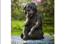 Statuary-At Our Nursery / Our Nursery has a wide variety of statuary to fit everyone's needs. We also offer special ordering. Come shopping with us today!