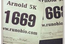 Get Involved / Signing up for 5ks, half or full marathons keep you motivated.