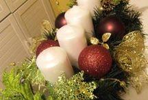 Christmas Table decor / Christmas