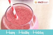 Oh so smoothies! / MCT Lean approved smoothie recipes!