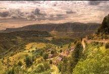 Lozère - France / Lozére region in France