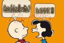 Snoopy con amici e la loro saggezza!!! / Le mie frasi preferite.
