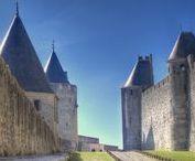 Cité de Carcassonne - France / Photos prises à la cité de Carcassonne