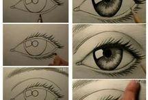 Disegnare/dipingere tecniche e idee / Saper disegnare così...vi piacerebbe! a me si...
