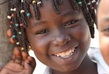 Children of the world / These beautiful eyes and amazing smiles encourage us to make the world a better place!