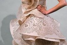 Tech Couture / When technology and fashion collide to create beautiful couture.