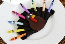 Thanksgiving crafts for kids / This Thanksgiving, create the best hand-made toys and decorations for home and classroom. It's so much fun!