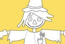 Fun scarecrow activities for kids / Autumn brings lots of fun! One of the autumn activities is creating scarecrows at home and in school. We have some pretty amazing ideas for parents and teachers.