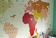 Pareti creative / Arredare le mura di casa