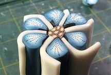 Tutorial Clay fiori / Bellissimi fiori, colorati, difficili e facili.