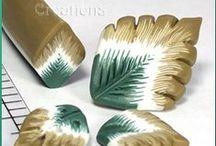 Tutorial Clay foglie / Foglie per tutti i fiori