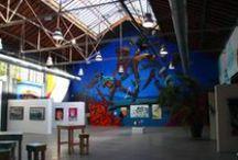 Exposition Mister Freeze - Toulouse - Street Art / Photos prises à la 3ème édition de l'exposition Mister Freeze, dédiée au Graffiti & au Street Art, qui s'est déroulée sur le site du 50cinq à Toulouse du 26 septembre au 3 octobre 2015.