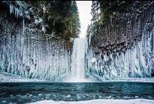 Водопад Waterfall