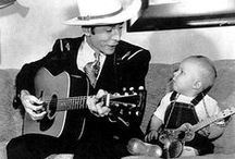 Music - Hank Williams, Sr and Jr