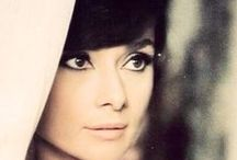 "Everything Audrey / Audrey Hepburn was the epitome of class, she was lovely to look at as well as a woman with a loving heart.  She did not come from privilege but worked hard to be where she was. We as a society have lost ""class and loveliness"" and settled for status quo. / by Valerie Gale"