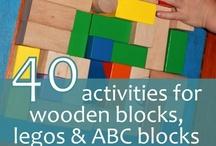 Block Center / Block Center, Block Area, Learning Centers for Preschool, Construction, Building, Blocks, Daycare, Child Care, Preschoolers, Toddlers, Kindergarten, Legos ~ Courtesy of http://AwesomeBeginnings4Children.com