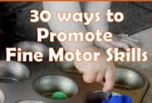 Fine Motor Activities / Fine Motor Activities in Early Childhood: babies/baby, toddlers, preschoolers/preschool