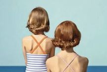 Small Summer / Sun-streaked, beach blonde, airy, tanned, freckled, whimsy looks we love.