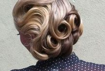 Vintage Hair / Hairstyles for smaller and taller ladies, inspired by the early years of the 20th century.