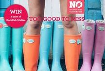 Competitions visit http://www.rockfishwellies.com/blog / £59.99 Free P&P buy now www.rockfishwellies.com Ladies wellies