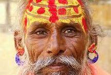 Sadhus, Babas & Sadhvi / Hellige menn og kvinner fra India og Nepal