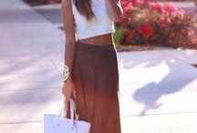 (L) Long Skirt