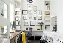 Home Offices That Work / Creative and Inspiring Decorating Ideas for Your Home Office.