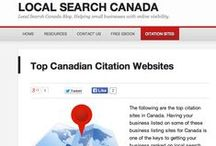 12 FREE Canadian Local Listing Sites / This board was built for the attendees of the 2014 WEBCON