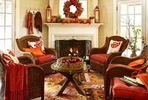 Fall Decor / Creative ideas for decorating your home for fall.