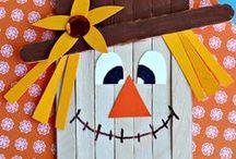 Fall Fun / Pumpkins, Halloween and Fall Crafts